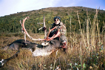 Neil with his caribou