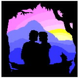 couple overlooking mountains