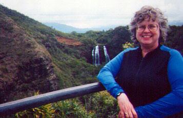 Lacy Opaeka'a Falls flow year round